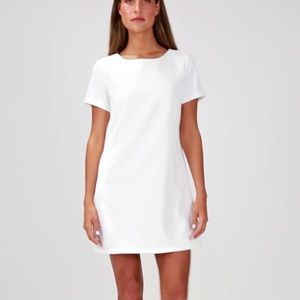 White House Black Market Color Black Shirt Dress